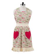 Olivia's Heartland Christmas Wishes Decorative Apron  - $25.00