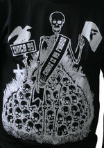 Famous Stars & Straps Mens Black Chaos Is My Friend T-Shirt image 3