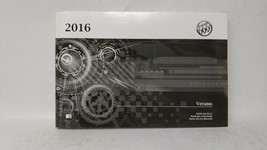 2016 Buick Verano Owners Manual 73097 - $35.44