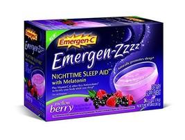 Alacer, Sleep Aid Emergen Zzz Mellow Berry Packet, 0.27 Ounce - $95.41
