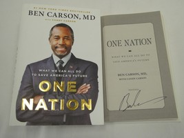 Dr Ben Carson HAND SIGNED One Nation Book AUTOGRAPH 2016 President PROOF! - $39.55