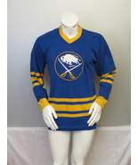 Vintage Buffalo Sabres Jersey - Crested Wool Acrylic Mix - Men's Medium - $85.00