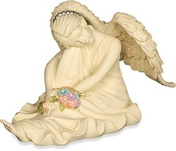 AngelStar Platinum Series Serene Angel Figurine, 2-3/4-Inch