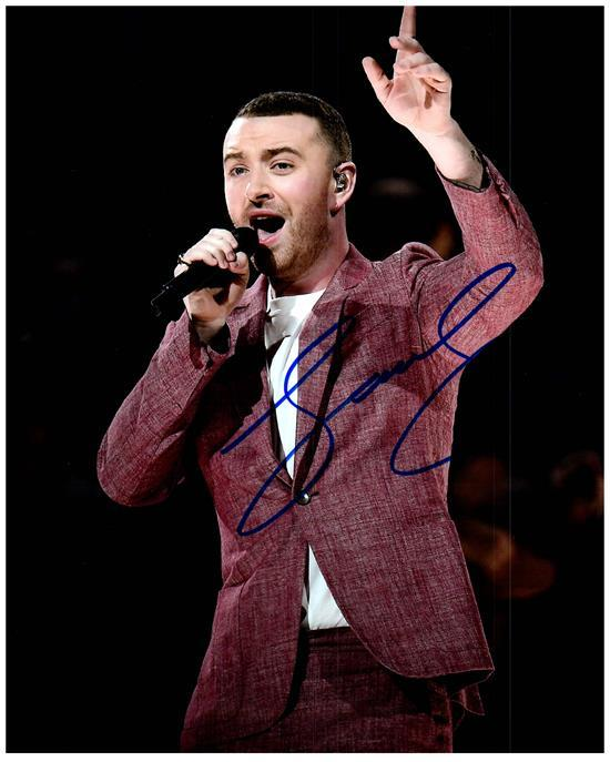 Primary image for SAM SMITH  Authentic Autographed Signed  Photo w/COA - 27173