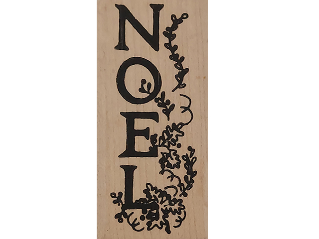 Imaginations Noel Wood Mounted Rubber Stamp