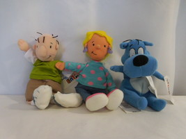 Disney Store Nickelodeon Disney Parks Doug, Patty and Porkchop Plush Rar... - $32.69