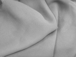 "60"" w Silver Chiffon Polyester Light Weight fabric - $7.55"