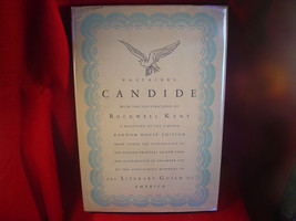 Voltaire's CANDIDE illustrations by ROCKWELL KENT fine/jacket 1929 Mario... - $147.00