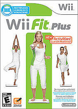Wii Fit Plus Nintendo Wii, 2009 Brand New Factory Sealed Game Case Manual - $17.81