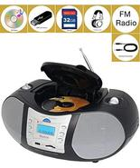 Boytone BT-6B CD Boombox Black Edition Portable Music System with CD Pla... - $85.78