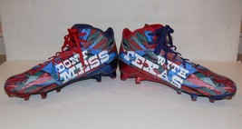 Adidas Adizero Limited Edition Don't Mess With Texas Football Cleats mc - $39.00