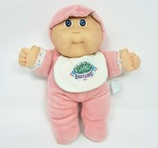 Vintage 1988 Cabbage Patch Kids Babyland Stuffed Animal Plush Toy Doll Rattle - $61.29