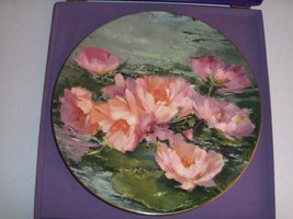 Royal Doulton Hahn Vidal Dreaming Lotus Collectors Plate - $34.99