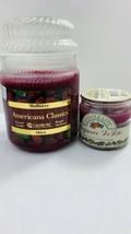 set of 2 Candle-lite Americana Classics Holiday Candles Jar 20 oz 5 oz F... - $24.18
