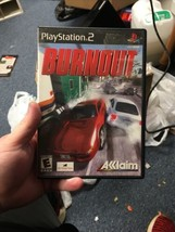 Burnout (Sony PlayStation 2, 2001) COMPLETE CIB - $13.09