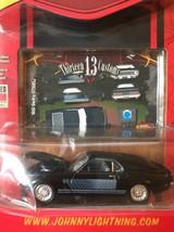 Johnny Lightning Thirteen 13 Customs RT 1969 Black 69 Shelby GT500 1:64 ... - $9.90