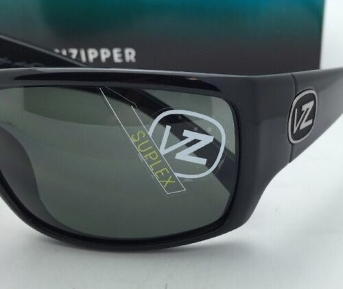 New ETHER Collection VONZIPPER Sunglasses SUPLEX Shiny Black Frame w/Grey Lenses image 7