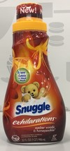 Snuggle Exhilarations Amber Woods & Honeysuckle Liquid Fabric Softner 32 oz - $7.51