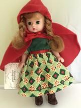 Madame Alexander Little Red Riding Hood McDonald's Toy Doll green sleepy... - $12.82