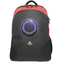 3Eye 3EYE-RED Backpack with Bluetooth Speaker (Red) - $119.15 CAD