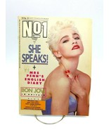 No 1 Magazine September 5 1987 Madonna Cover Bon Jovi British Import Rare - $38.61