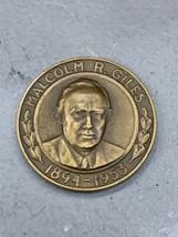 1953 Loyal Order of Moose Malcolm R. Giles Memorial Award Medal Token  - $9.99