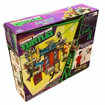 Playmates Teenage Mutant Ninja Turtles Fire Escape Free Fall Z Line Ninj... - $32.66