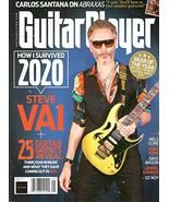 Guitar Player Magazine (January, 2021) Steve Vai Cover [Single Issue Mag... - $7.99