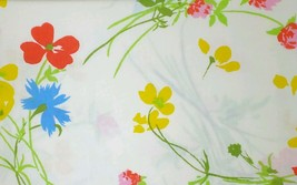 "Vintage Floral Pillowcases Fieldcrest King Set Flowers 42 x 46"" - $19.99"