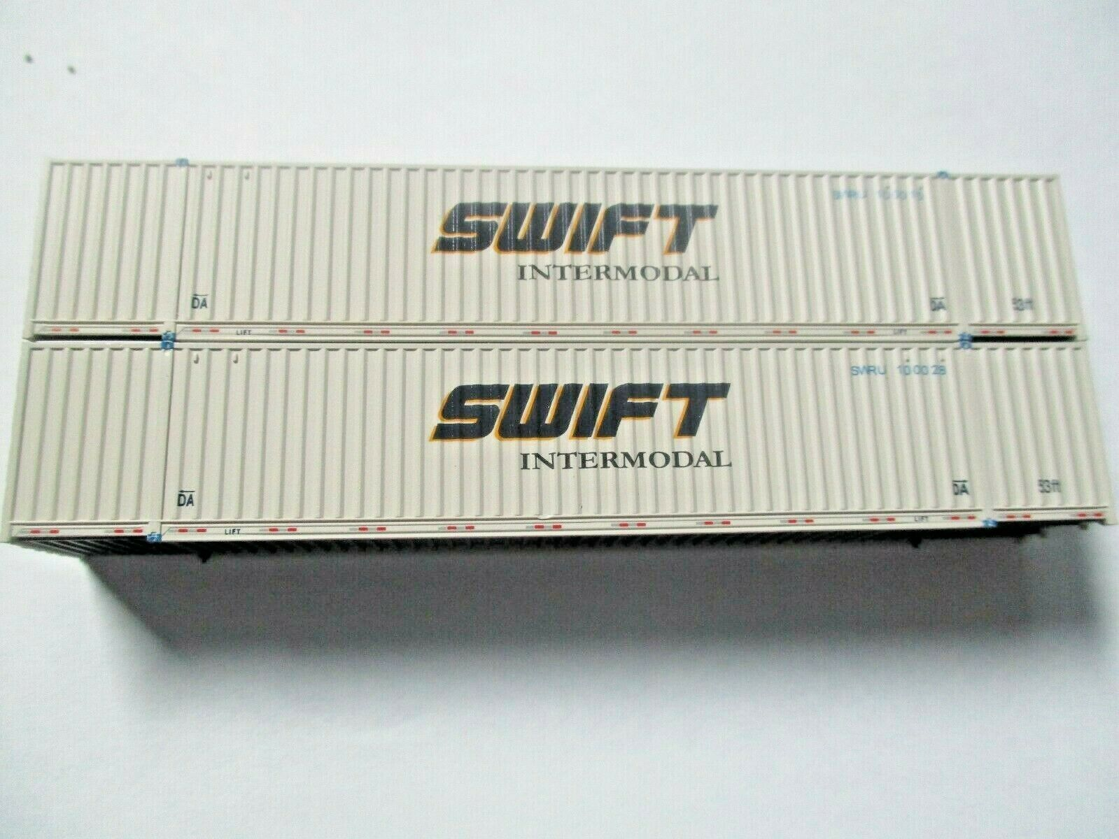 Jacksonville Terminal Company # 535023 Swift Intermodal (faded)  53' Container N