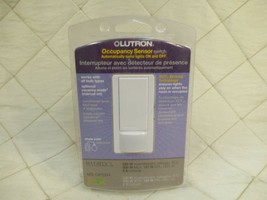 LUTRON ELECTRONICS MS-OPS2H-WH Maestro Occupancy Sensor Switch White Sea... - $17.41