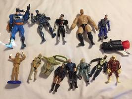 14 Vintage Action Figures Lot Batman Star Wars Stone Cold Austin Some Mo... - $19.79
