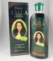 Dabur ORIGINAL Amla Hair Oil 200ml Natural Care Gooseberry USA SELLER FA... - $7.95