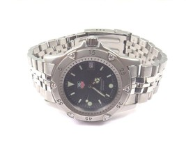 Tag Heuer WD1211-K-21 Stainless Steel Professional Watch With Diamond Bezel - $899.00