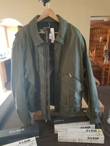Mens Harley Davidson Jacket Covey Green Brand New 3xl Canvas - $175.00