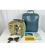 Vintage Sekonic 8 Model 30C Projector with Carrying Case - POWERS ON !! - $29.69