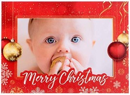 StarPack Christmas Holiday Greetings Cards/Photo Frame Cards Set 10-Pack - $12.25