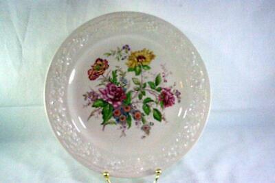 "Homer Laughlin Floral TH6 L47N5 Dinner Plate 9 7/8"""
