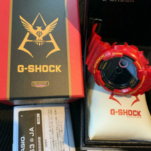 CASIO G-SHOCK×GUNDAM Mobile Suit 35th Anniversary Wristwatch Char Exclusive - $454.71