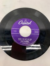 Vintage Gisele MacKenzie Adios and Darlin, You Cant Love Two Record - $12.86