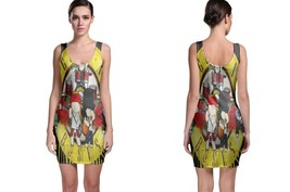 Guns N Roses logo yellow BODYCON DRESS - $19.99+