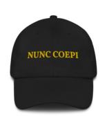 Nunc coepi hat / nunc coepi // dad hat - $39.00