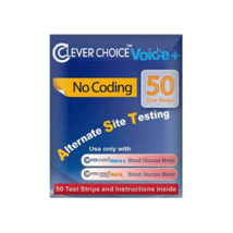Clever Choice Auto-Code Voice + Test Strips 50ct. - $9.99