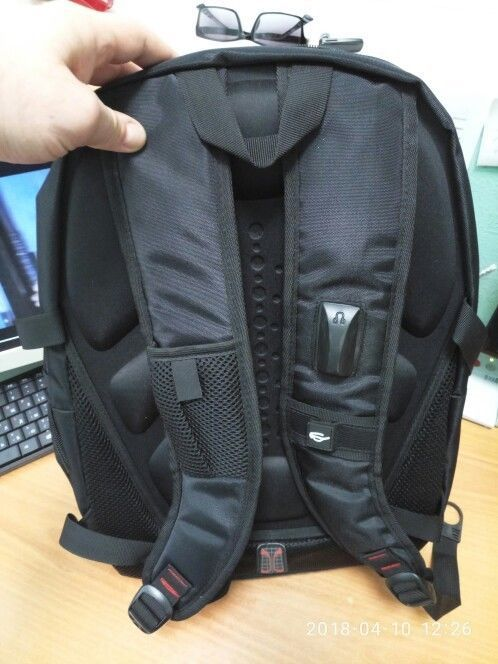 Teenager Swiss Style School Backpack Men Laptop Bag Outdoor Business Travel Gear