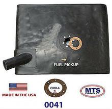"PLASTIC FUEL TANK MTS 0041 FITS 55-72 JEEP CJ5 AND CJ6 ""UNDER THE DRIVERS"" SEAT image 2"