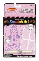 Melissa & Doug On the Go Scratch Art Learn-to-Draw Pad - Princesses - $12.82