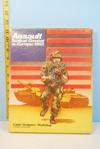 Assault Tactical Combat in Europe 1985 Game #1 in Series GDW 1983 Unpunched - $74.25