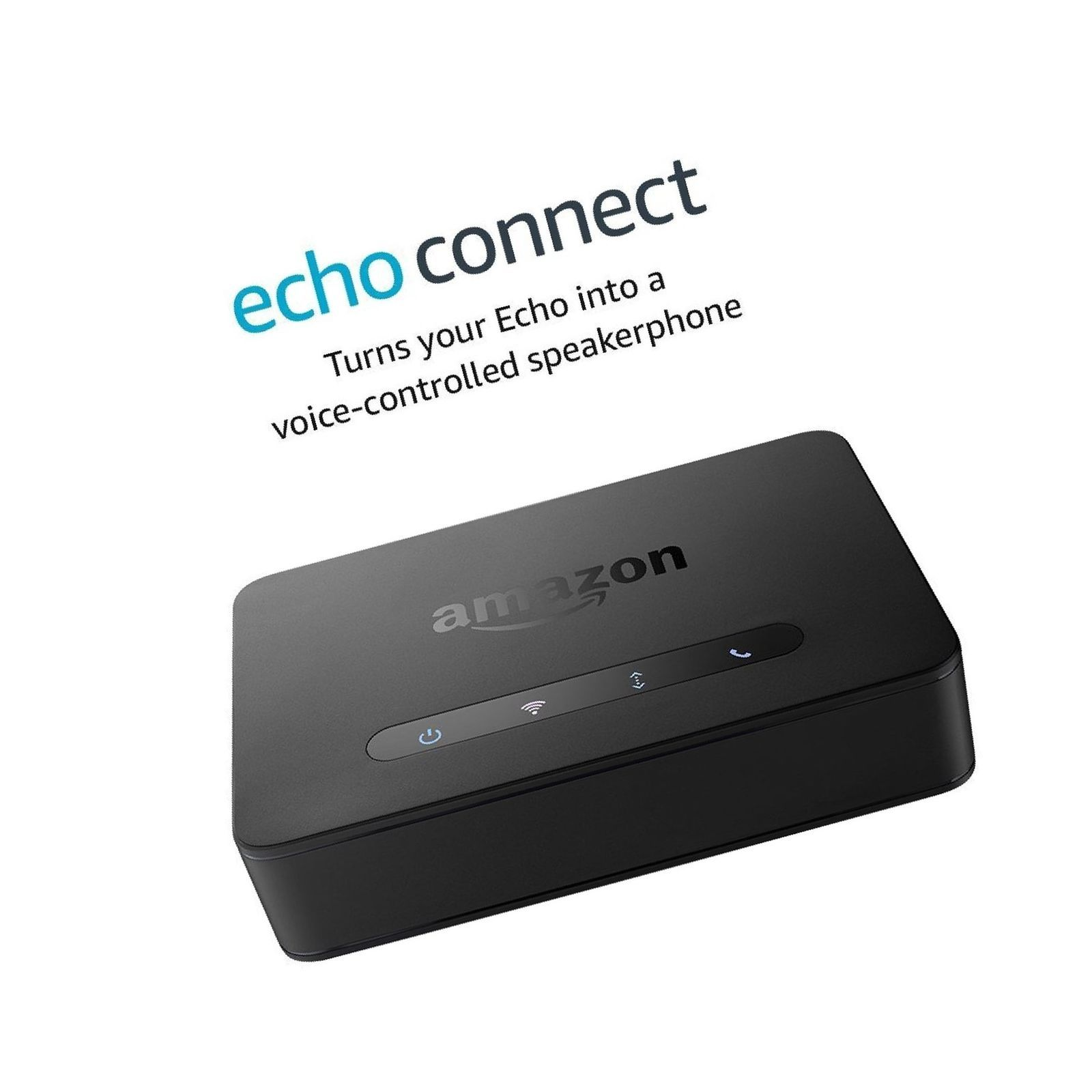 Echo Connect  requires Echo device, home phone service, and smartphone for se...