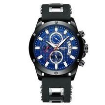 Ship From USA NIBOSI Watch Men Quartz Silicone Fashion Watches Waterproof Shockp image 2