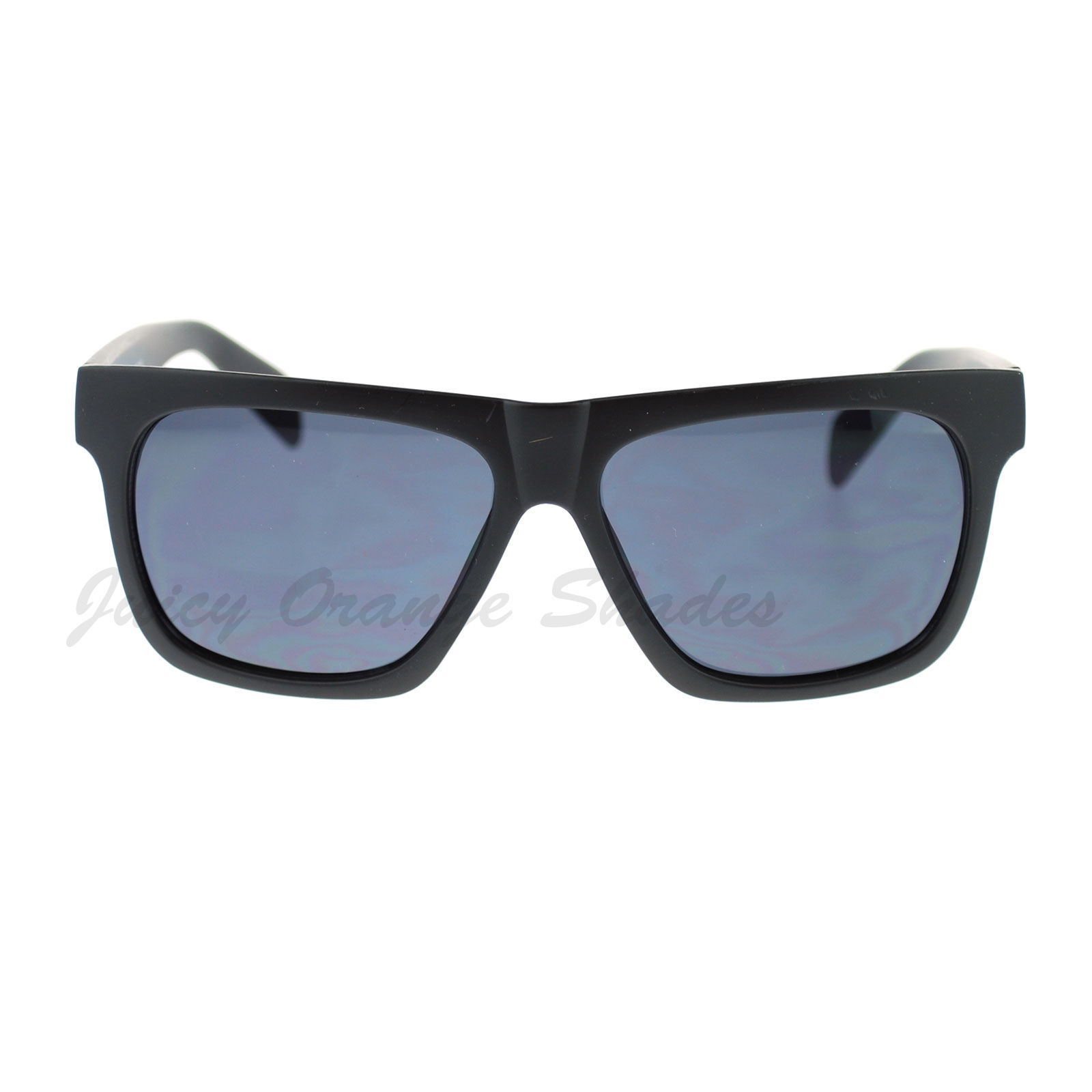 KUSH Matte Black Square Frame Sunglasses Unisex Fashion